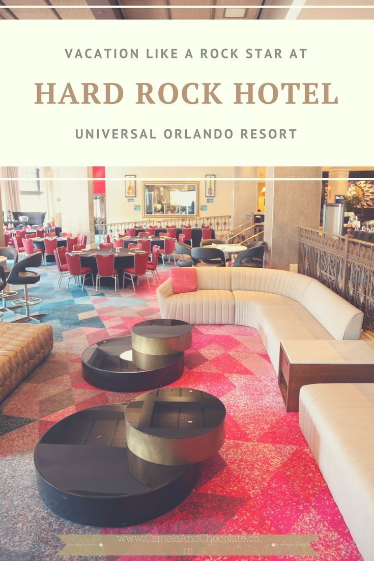 Where to Stay in Orlando: The Hard Rock Hotel