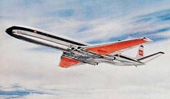 British European Airways de Havilland Comet 4B Free Airplane Paper Model…