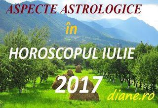 Horoscopul iulie 2017 stă sub semnul unor evenimente/aspecte astrologice notabile: Venus tranzitează sectorul Gemenilor şi după aceea zona a...