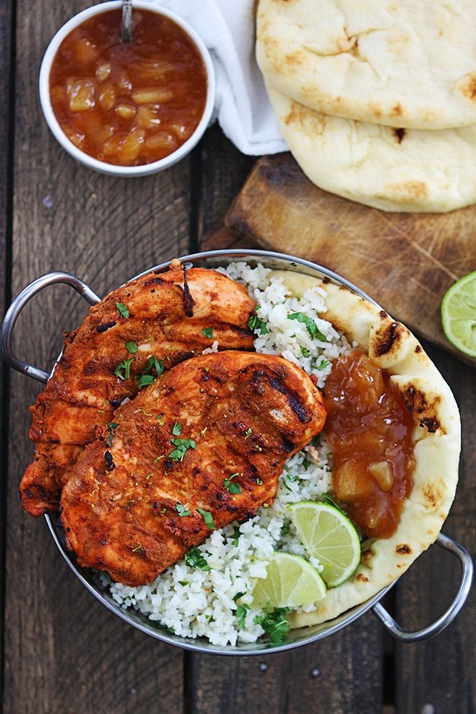 Grilled Tandoori Chicken via La Creme de la Crumb #recipe
