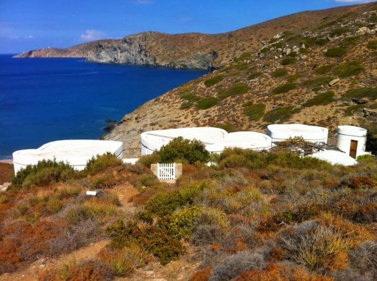 33 besten vacation house in amorgos by iannis xenakis bilder auf, Innenarchitektur ideen