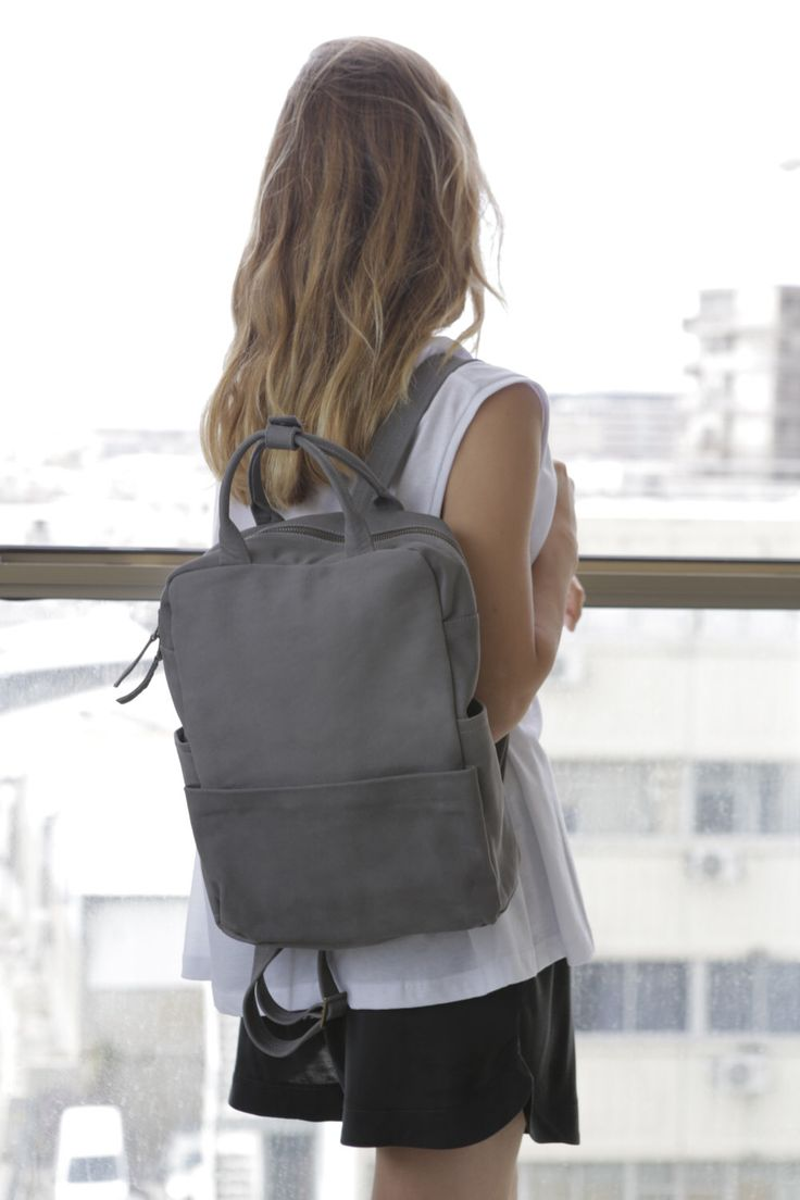 Excited to share the latest addition to my #etsy shop: Unisex Leather Rucksack, Modern Backpack, High End Grey Leather Backpack, Laptop Bag, Gray Unisex Handbag, High Fashion Rucksack - Kipi #backpack #modernbackpack #christmas #grayunisexhandbag #unisexrucksack #leatherrucksack