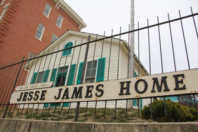 Jesse James Home Museum in St. Joseph, Missouri #thingstodoinkansascity #kansascity