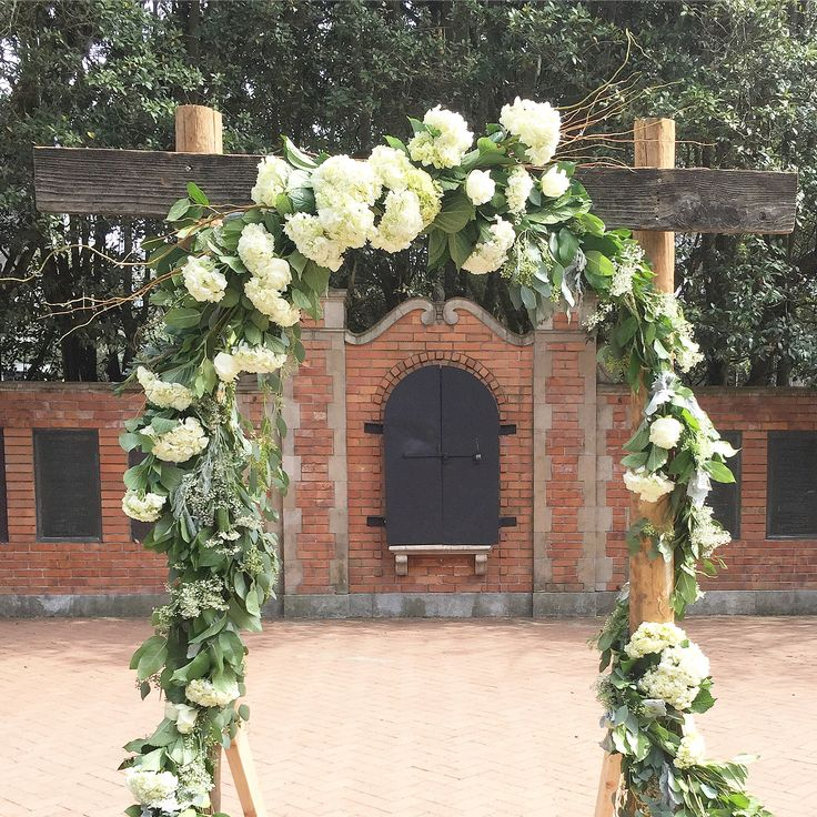 A closer look of the arch