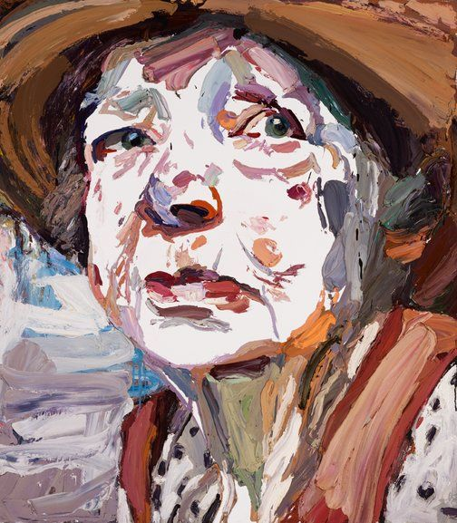 Portrait of painter, Margaret Olley, 'Margaret didn't understand why anyone would want to see a portrait of her.' Ben Quilty