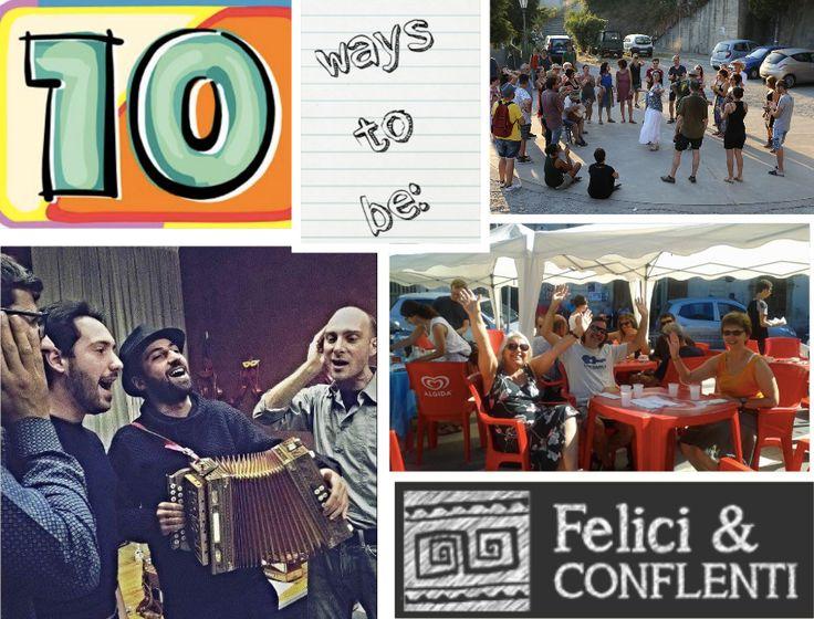 #FelicieConflenti #happy #enjoy #tenways #toBe #Calabria #tourism #trip #travel #tour #music #traditions