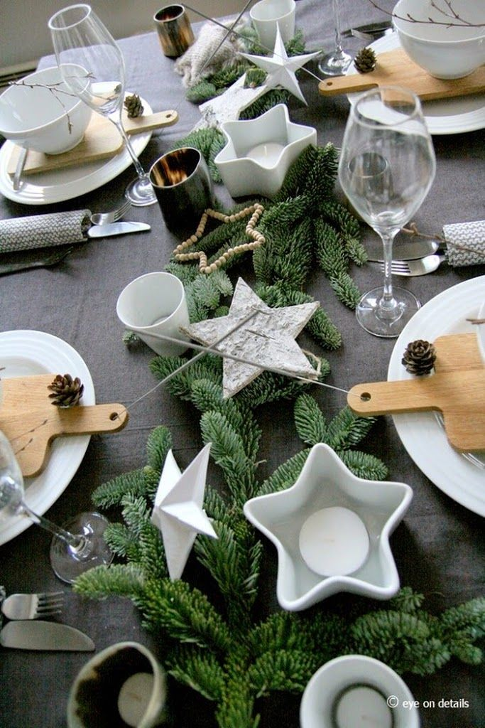 You can see a couple of my Christmas table settings at Ica`s web page today :-) Giving you some ideas and tips...