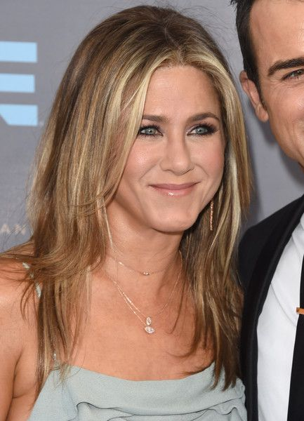 Jennifer Aniston attended the Critics' Choice Awards wearing her signature layered cut.
