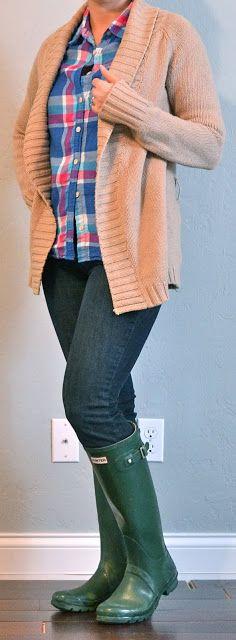 Outfit Posts: Color: Plaid