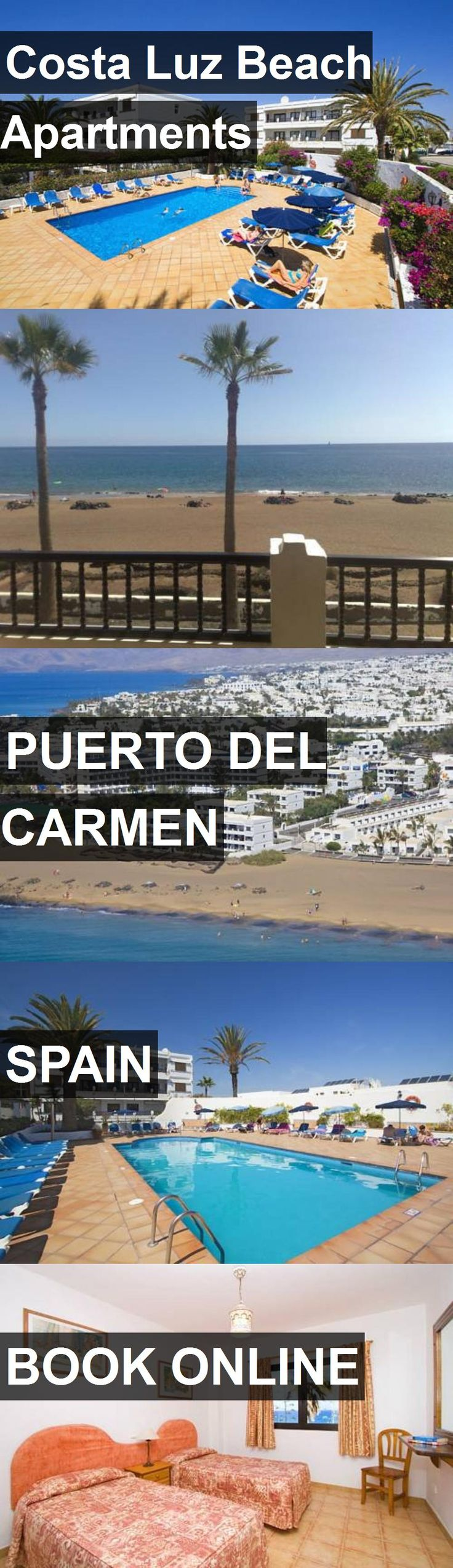 Costa Luz Beach Apartments in Puerto del Carmen, Spain. For more information, photos, reviews and best prices please follow the link. #Spain #PuertodelCarmen #travel #vacation #apartment