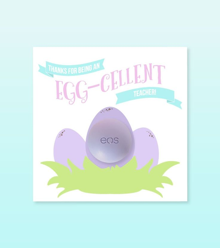 Easy Easter Gift for Teacher   Come enjoy your free download and make your kid's teacher a cute Easter gift in two minutes flat. Click through to download today!