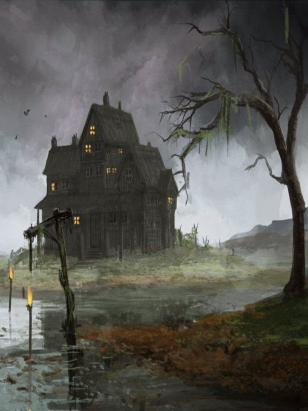 haunted houses and characters in gothic fiction Therefore, the characters are being haunted by the house in other words, the powerful gothic imagery affects the characters' minds, thus making the haunted house a metaphor, a projection of the instability of the mind, and ultimately, fear.