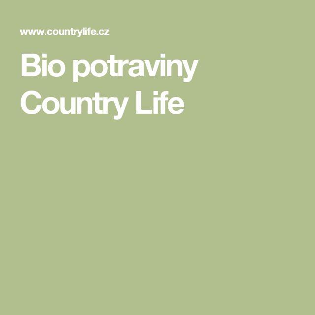 Bio potraviny Country Life