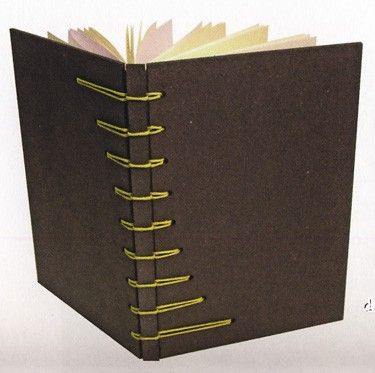 more book binding tips.  una bella interpretazione della Secret Belgina Binding...