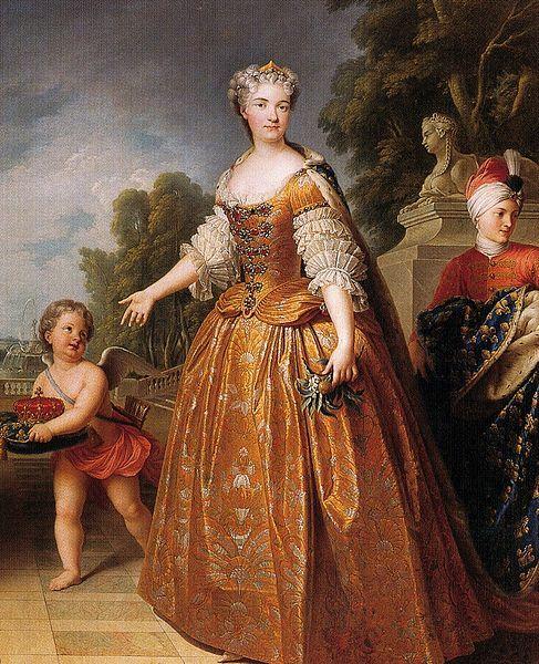 Portrait of Maria Leszczynska (1703-1768) by Francois Stiemart