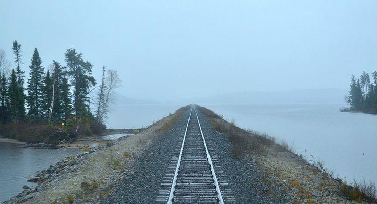 ... Senneterre, en Abitibi, traverse de sublimes paysages (Québec, Canada