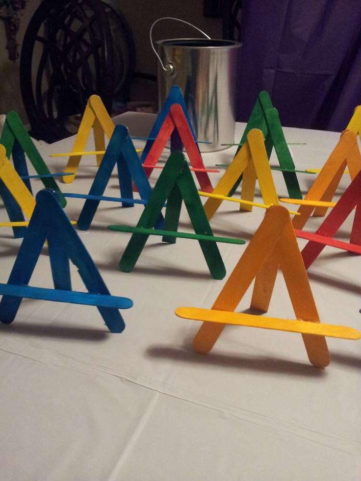 Art Party Birthday Party Ideas | Photo 31 of 46