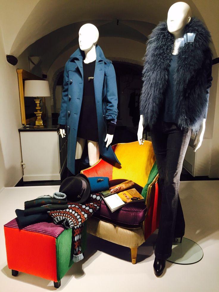 Collezione autunno/inverno firmata Gucci nelle vetrine di Sinnaker101