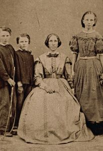 Eliza Perrin and her children (undated)Image: Gold Museum Collection