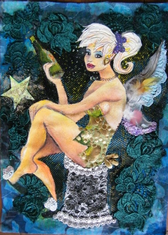 This is Drinkabelle. Created with mixed media.Irresistible.