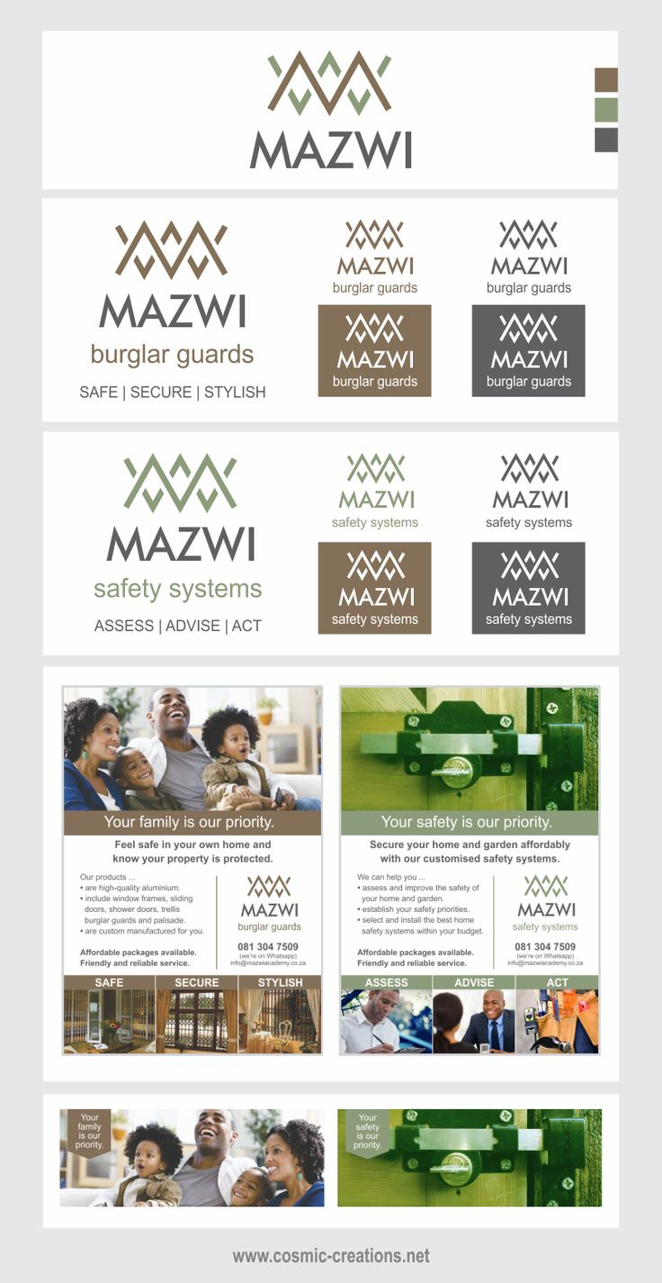 Cosmic Creations Freelance Design Lab: Mazwi Rebrand