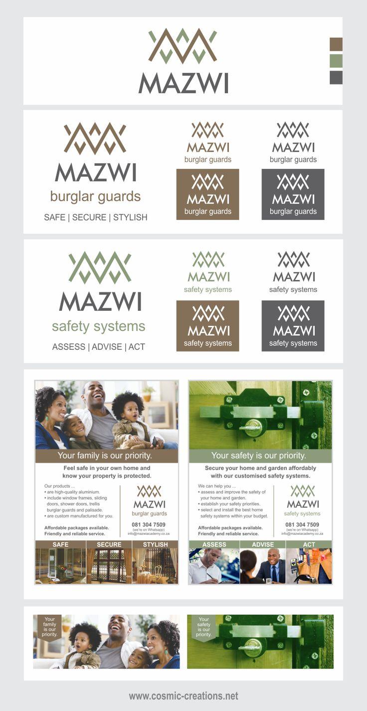Cosmic Creations Freelance Design Lab: Mazwi Rebrand