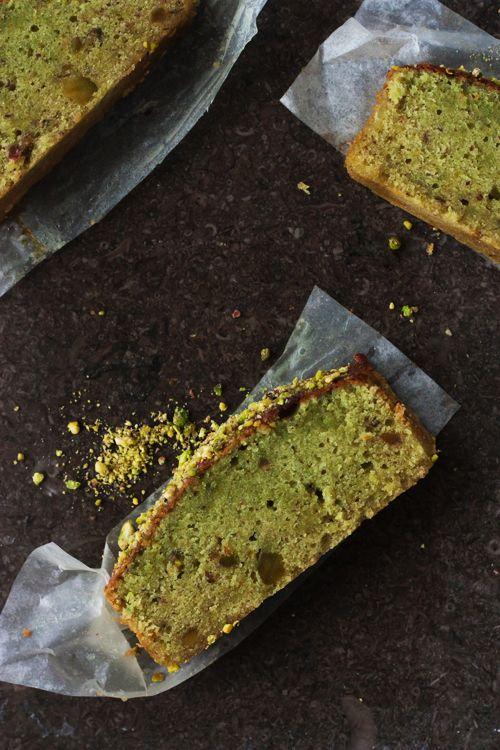 Cake à la pistache {et le livre Les Touilleurs à gagner !}