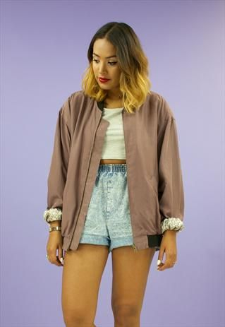 13 best ASOS marketplace images on Pinterest | Women's jackets, 80 ...