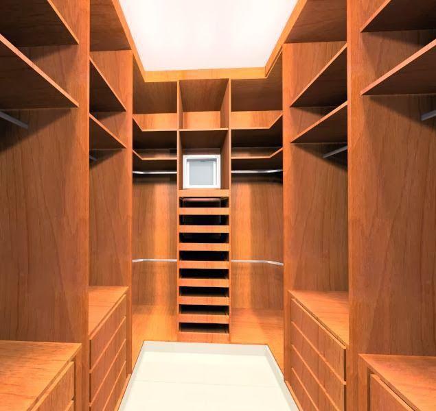 closet em u pequeno planejado - Pesquisa Google