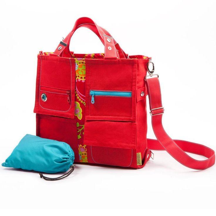 Liliputi® Mama Bag Floral Garden Diaper Bag - Babywearing & More! #liliputi #mamabag #diaperbag