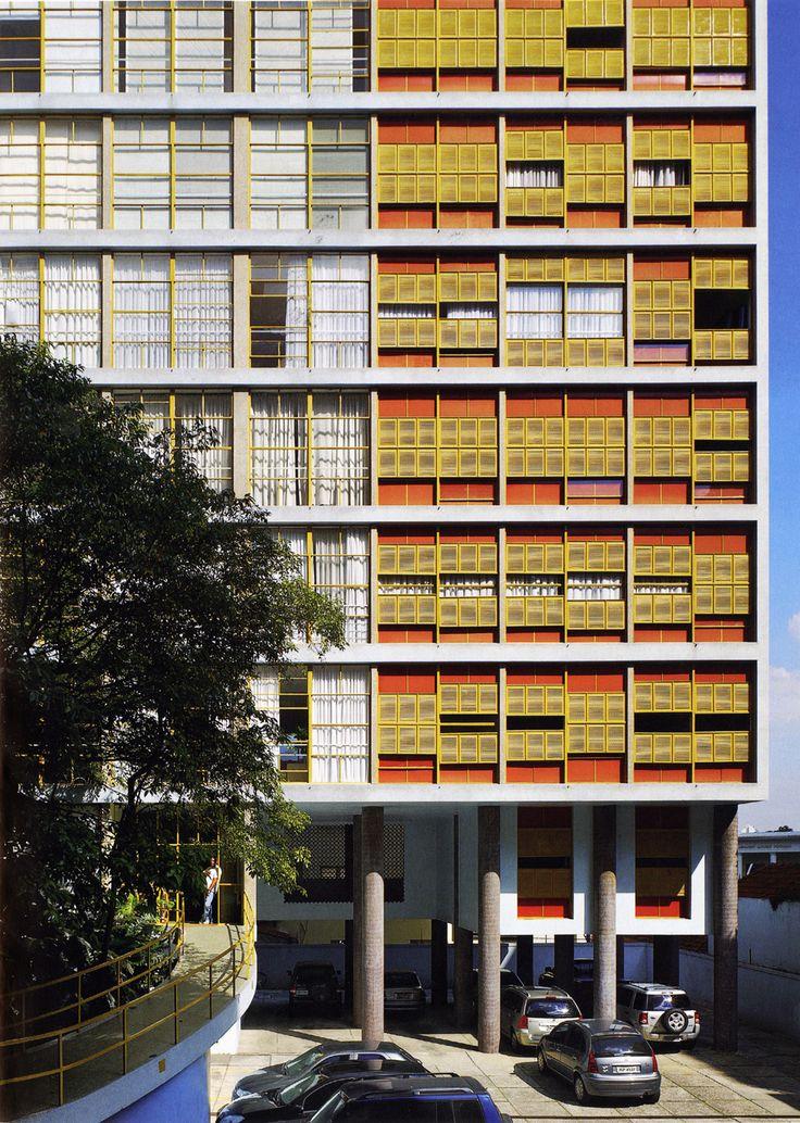 João Vilanova Artigas - Louveira Building, São Paulo 1949