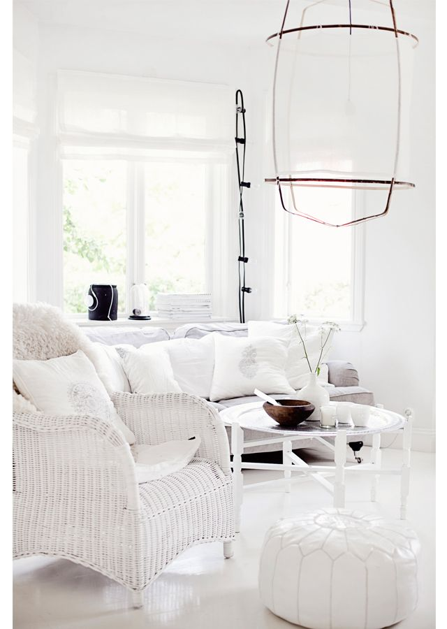 1178 best coastal home ideas images on Pinterest Home, Live and - all white living room