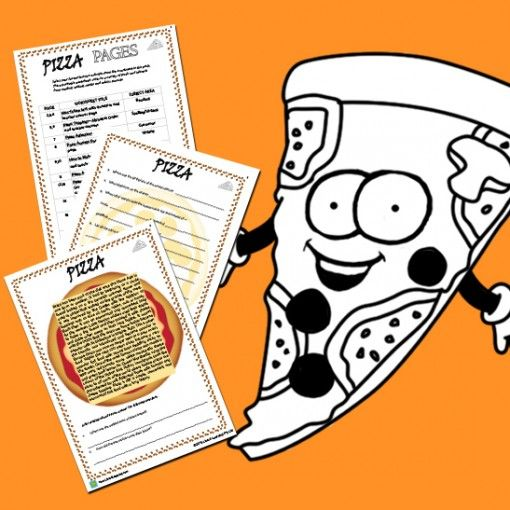 www.lizardlearning.com  Pizza Pack- Would you like a package that could last 4 weeks? Your daily day buddies will engage in so many curriculum areas about a topic that all kids love.