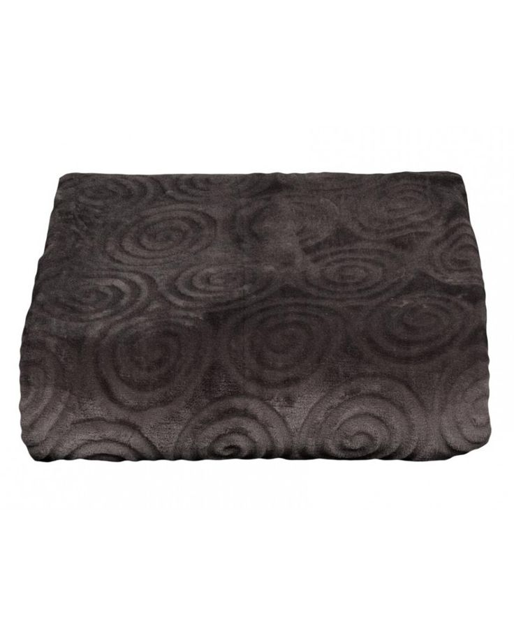 Manta sedalina Turquia en color gris oscuro muy suave imprescindible en el sofá o en el dormitorio como fuente de calor extra sin tener que subir la calefacción