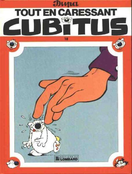 Tout en caressant Cubitus
