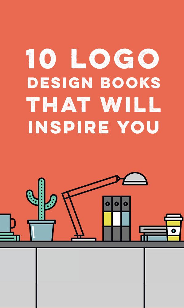 10 Logo Design Books That Will Inspire You -  If you're a designer, there's no shortage of books out there ready to inform and inspire you. The only problem is deciding which ones are worth your time. On the topic of logos alone, there's hundreds of titles to choose from. We've handpicked a list of the top ten logo design tomes that will further your design education. #logo #design #books
