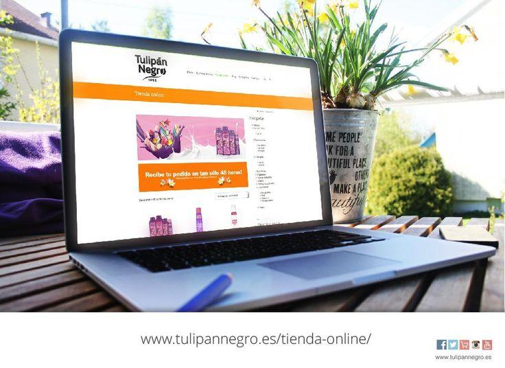 ¿Aún no conoces nuestra web? Ahí encontrarás la tienda online de Tulipan Negro, donde podrás comprar todos los productos de lanzamiento y tus clásicos favoritos.  #web #tienda #productos #belleza #salud #cuidado #piel #cuerpo #skin #TulipanNegro #Almeria #compra