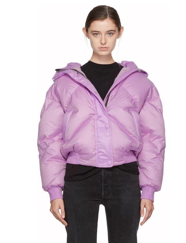 Lilac Lavender Purple Puffer Jacket for Ski Season and Beyond 769b3ca0f