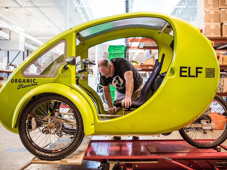 ELF — the vehicle with an identity crisis — part bike and part car — just might transform the city lover's commute.
