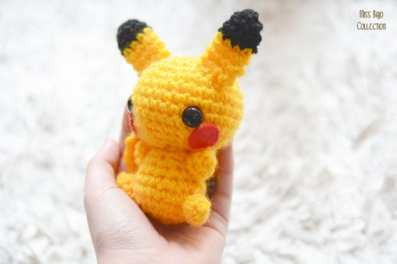 Pokemon Pikachu FLUFFY BIG