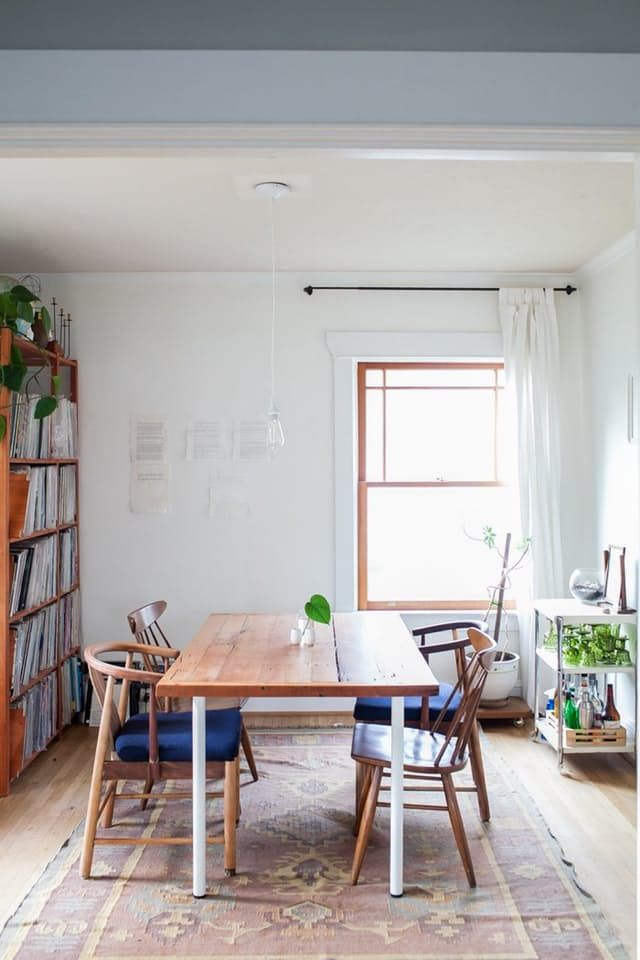 If your dining room needs a little boost, look no further than these five inspiring spaces. There's lots of eye candy here, and also plenty of ideas to steal for your own home.