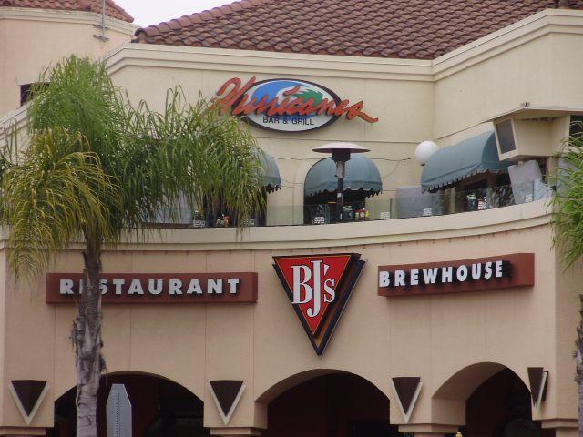 Hurricanes Bar And Grill on Main Street in Huntington Beach,California