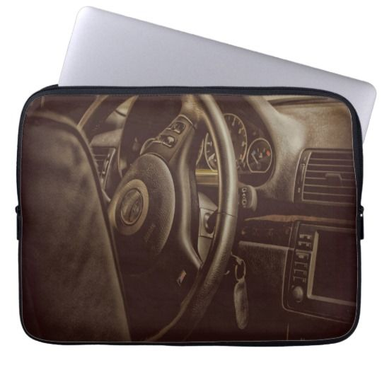 Driver Console Laptop Sleeve $27.95
