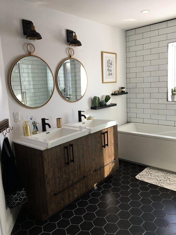 20 Mid Century Modern Bathroom Ideas Mid Century Modern Bathroom Bathroom Mirror Farmhouse Bathroom Decor