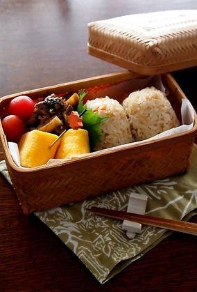切り干し大根の炊き込みご飯・・おにぎりおべんと&トマトのマリネ♪|レシピブログ
