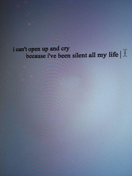 One of my favorite lyrics from Marina.