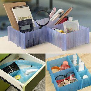 Bureaulade kastorganizer Helpt u bij het organiseren van uw ladeKan worden gecombineerd op elke manier die u maar wil Bespaart veel tijd voor het vinden van dingen en bespaart ruimte Door de flex...