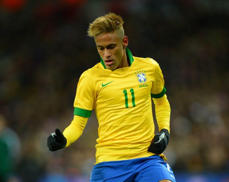 Neymar 2012 Hairstyle - HD Photos Gallery