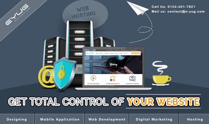 Eyug web solutions is the best web hosting service providing company in Delhi NCR, India, which offers updated hosting plans with best features. We have a particular team to respond quickly for any problems of yours regarding web hosting service. We provide you total control of your website.