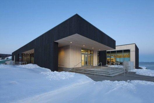 Conan Library and City Hall of Ville de La Malbaie / acdf*, Bisson / Desganés Architectes in Consortium